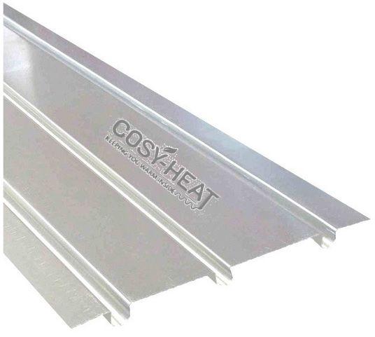 Underfloor Heating Triple Aluminium Spreader Plates Triple Groove Select Qty