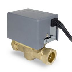 Salus PMV28 -  2 port motorised valve complete with actuator head.