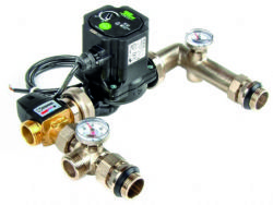 Pump and Mixing Valve Set - Taco - A Rated