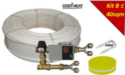 KIT B - Warm Water Underfloor Heating - Single Zone up to 40sqm
