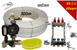 .KIT C - Warm Water Underfloor Heating - Single Zone up to 60sqm