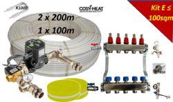 KIT E - Warm Water Underfloor Heating - Single Zone up to 100sqm